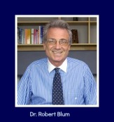 Blum Photo with caption